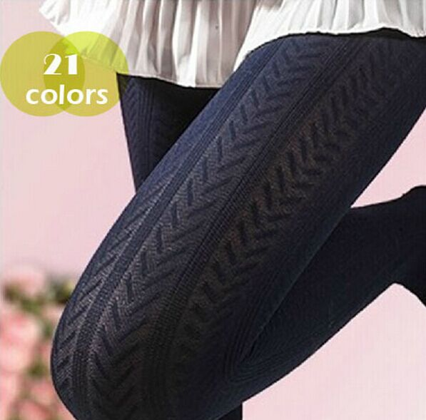 Free shipping Autumn and winter new arrival wheat thin twisted meat 120d socks pantyhose wholesale price