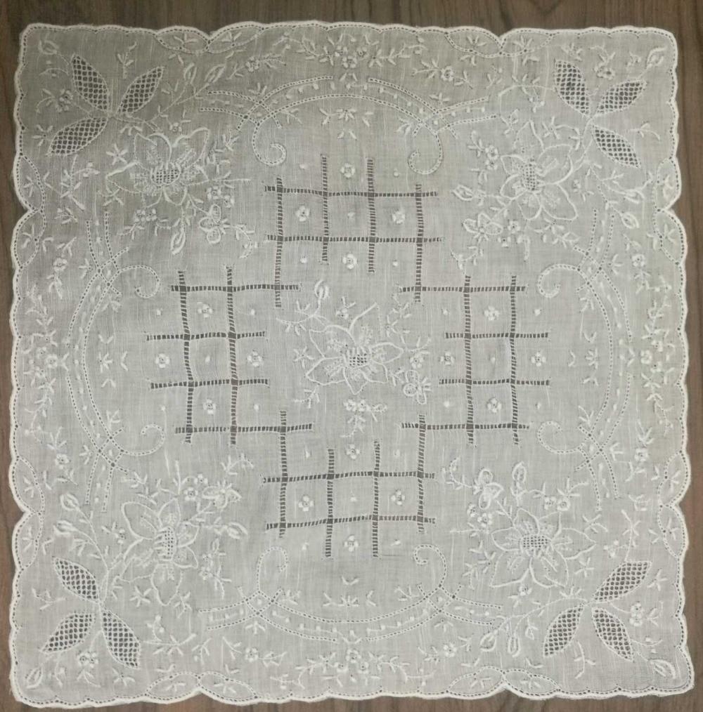 1PCS/Lot Novelty Women's Handkerchiefs 11.5'x11.5