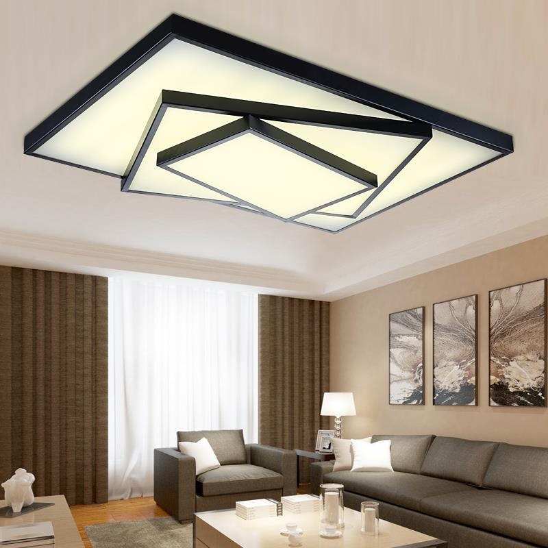 Hot free shipping Modern led ceiling lights lamp for living room ...
