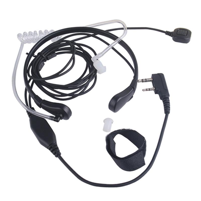 Throat Microphone Throat Vibration Headset For Two Way Radio BaoFeng UV-5R UV-B5 UV-B6 BF-888S Talkie Walkie
