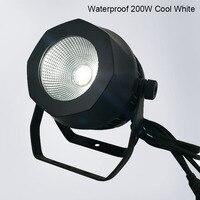 10 шт. Водонепроницаемый светодио дный Par удара 200 Вт теплый белый DMX512 сценический эффект освещения для открытый бассейн диско DJ вечерние ноч