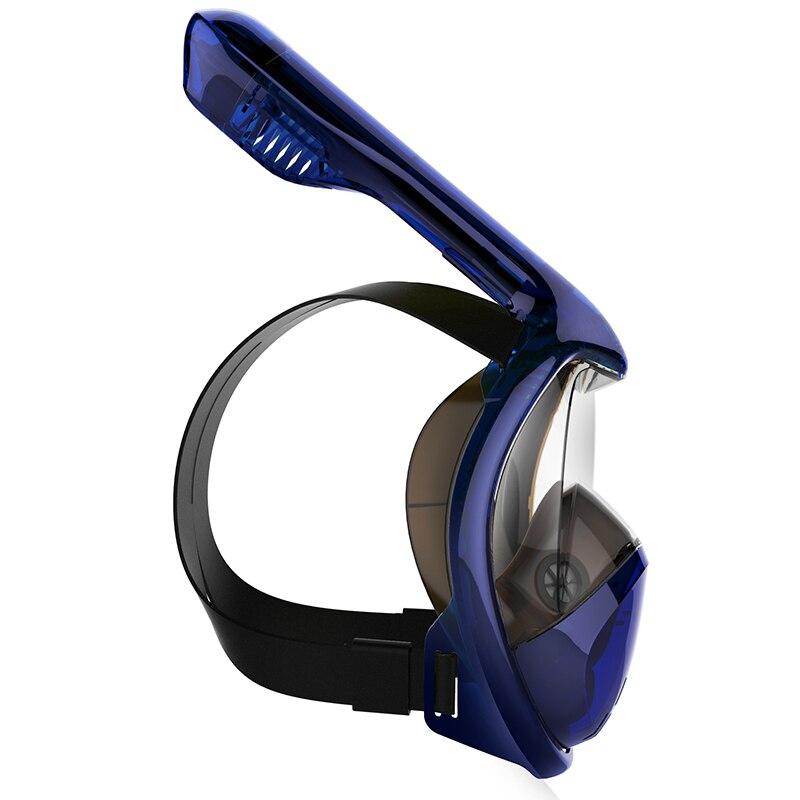 2018 Full Face Snorkel Masks Panoramautsikt Anti-dimma Anti-Lekning - Vattensporter - Foto 2