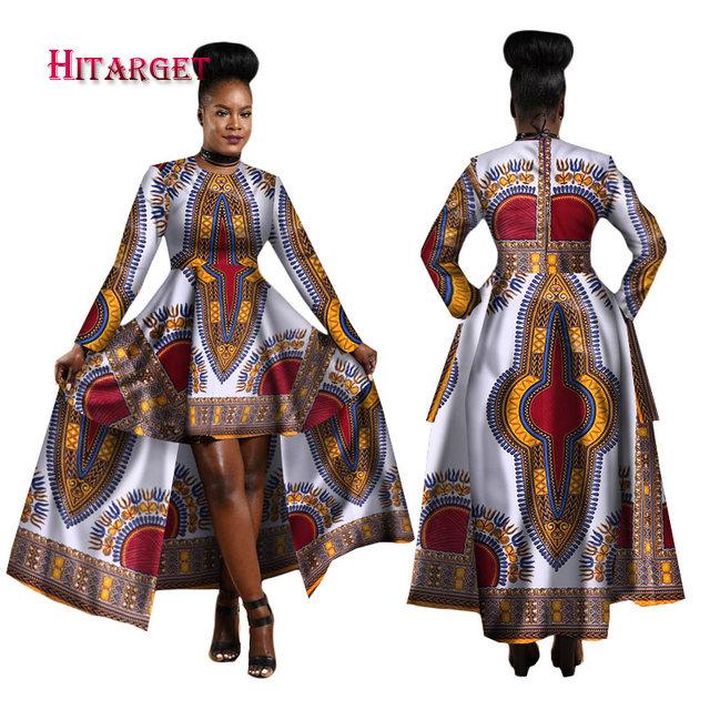 African Women Dashiki Cotton