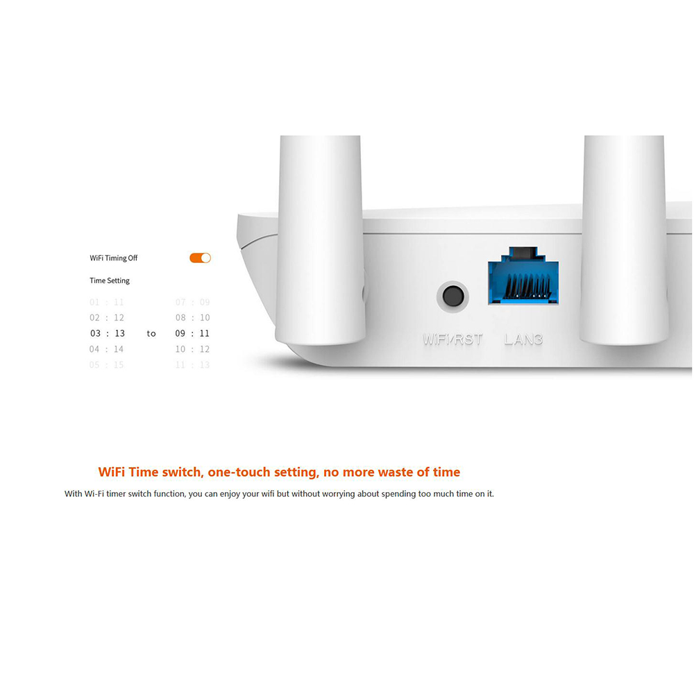 Tenda F6 300Mbps Wireless WiFi Router Wi Fi Repeater Multi Language