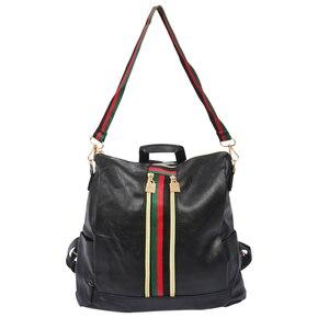 Image 2 - ผู้หญิงแฟชั่นStreet Solidกันน้ำซิปกระเป๋าสะพายกระเป๋าเป้สะพายหลังผู้หญิงหญิงCasual Travelกระเป๋าเป้สะพายหลังหนังPU