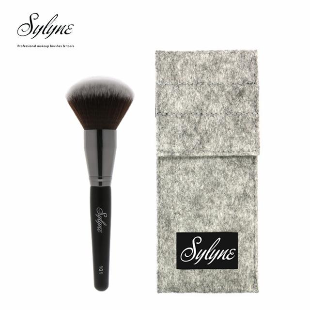 Sylyne Jumbo Powder Brush #101 Professional Makeup Brushes Holder Face & Body Cheek Blending Make Up Contour Brush.