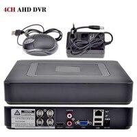 4CH AHD DVR AHDNH 1080N Vigilancia DVR 5 EN 1 AHDM CVI TVI CVBS 960 H Mini Cctv DVR HDMI DVR Híbrido NVR