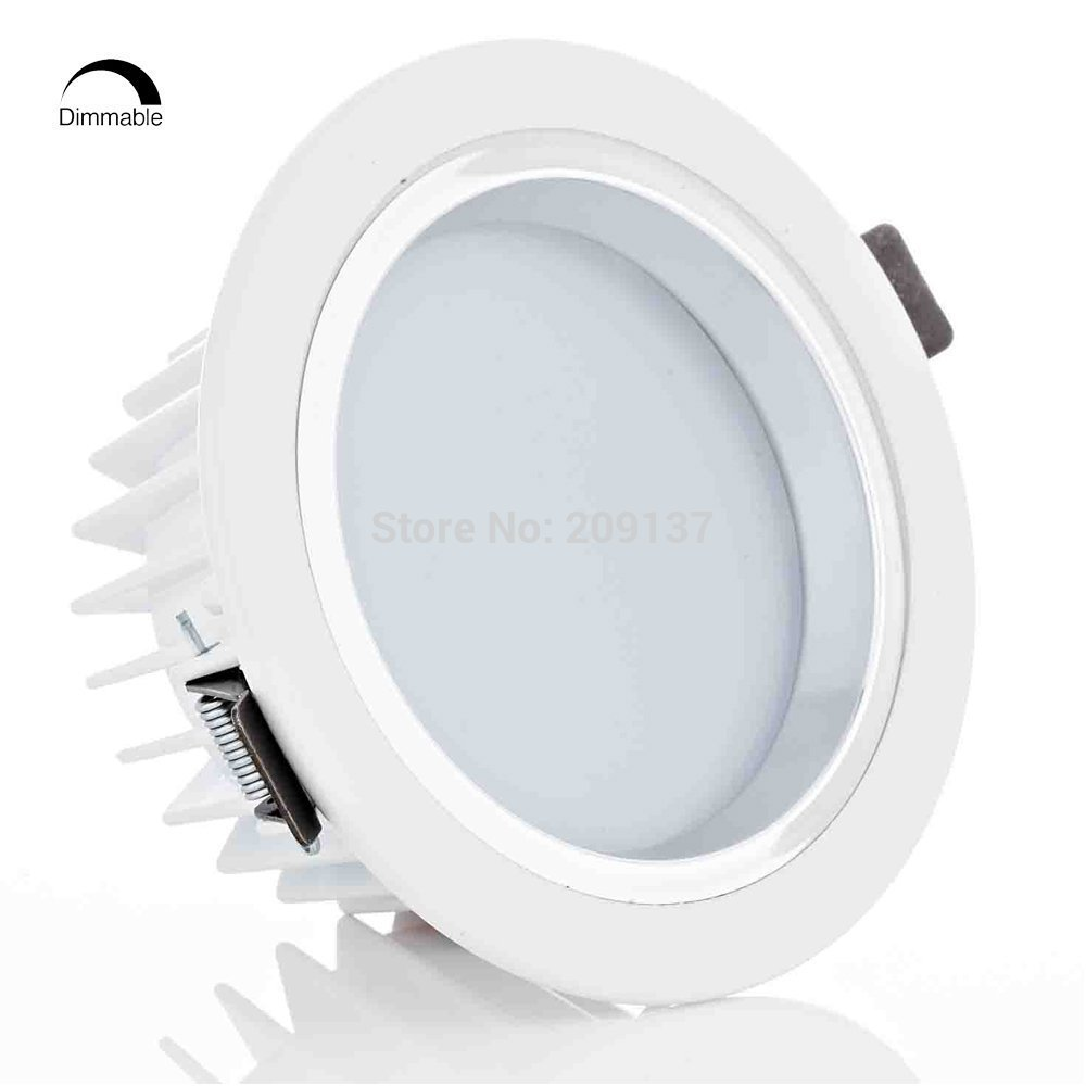 Us 660 0 12 Off 12w Dimmable Retrofit Led Recessed Lighting Fixture Ceiling Light 120w Halogen Equivalent Downlight In Bulbs