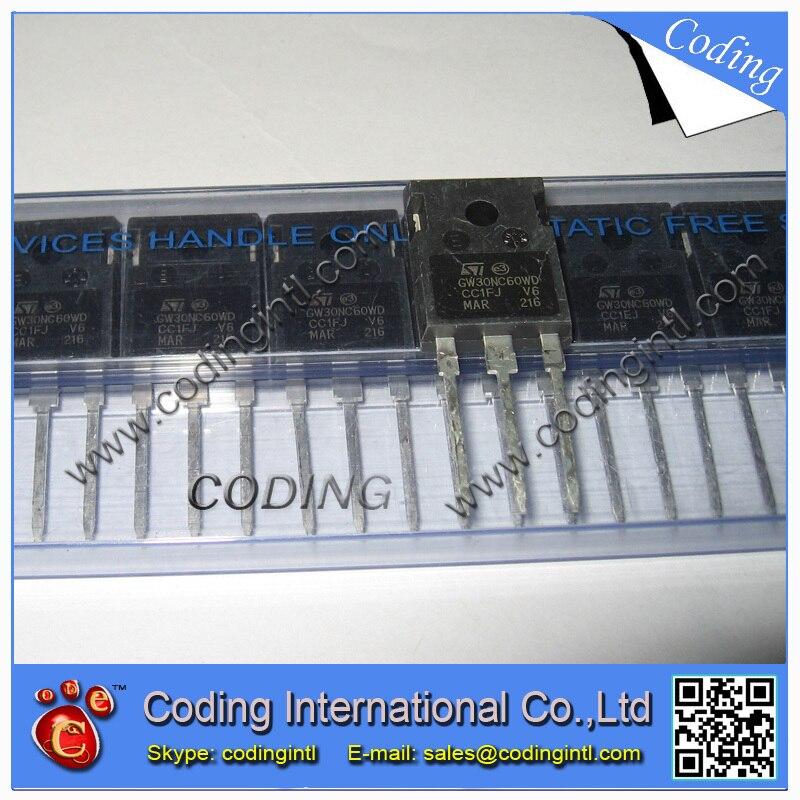 Транзистор 10 . /stGW30NC60WD/247 GW30NC60WD