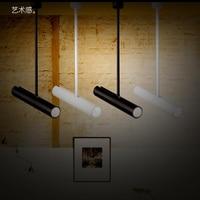 Светодиодный прожекторы трек длинный шест прожекторы светодиодный Потолочные светильники магазин одежды настенный железнодорожных проже