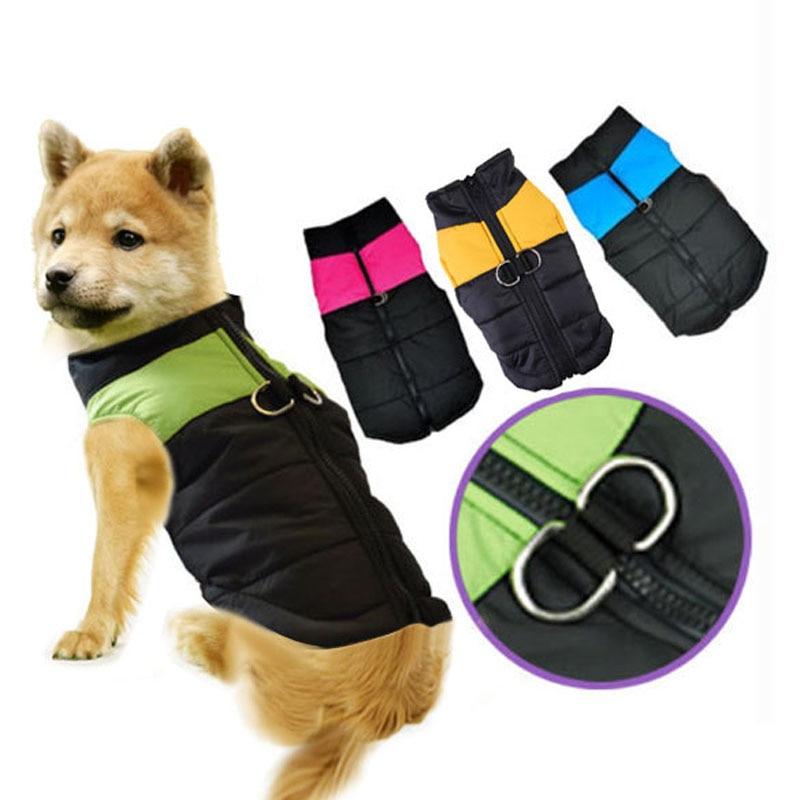 Winter Warm Pet Dog Clothes...