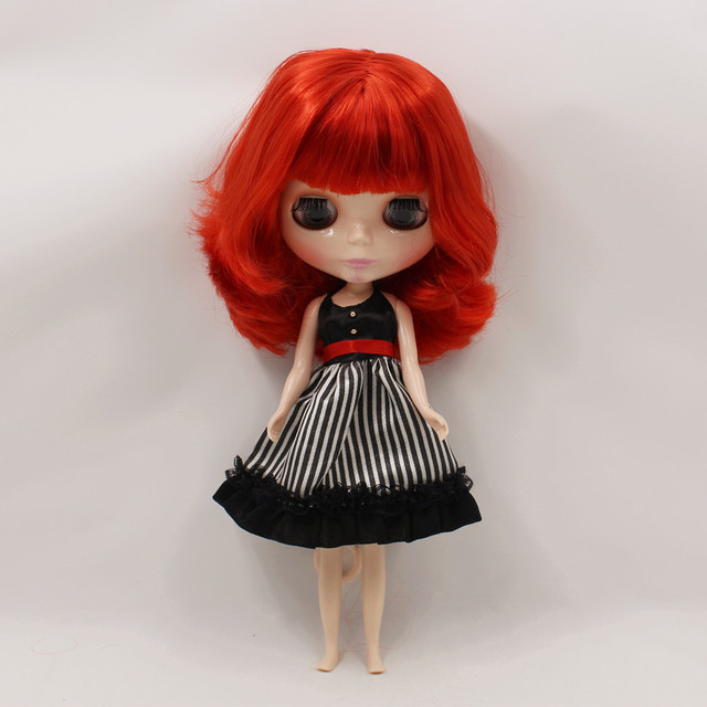 ICY Neo Blythe Doll Short Red Hair