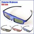 3D Active Shutter Glasses DLP-LINK 3D dlo glasses for For EPSON Optoma Sharp LG Acer BenQ NEC Vivitek ViewSoni w1070 Projectors
