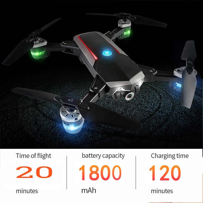 SMRC мини-квадрокоптера 4 K карманные Дроны с камерой HD маленькая Wi-Fi шахты RC самолет Квадрокоптер гонки RC вертолет S9 fpv гоночный Дрон