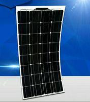 Hoge benutting van 100 w semi-flexibele zonnepanelen  de nieuwste ontwerp  verkopen wereld