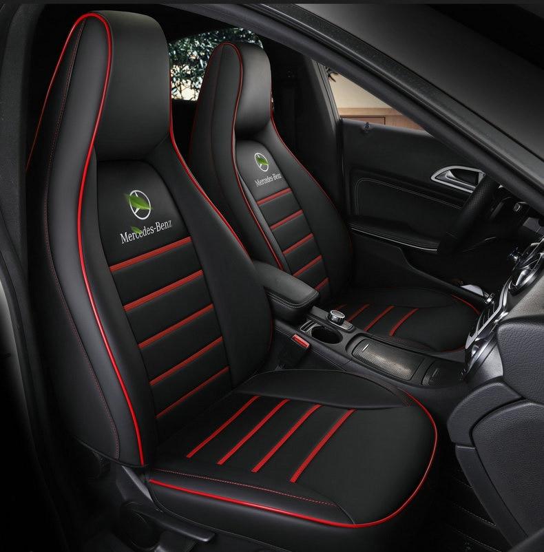 Personalizzato In Pelle auto seat cover per auto Mercedes-Benz gla200 gla260 cla200 cla 220 cla260 Un 180 A200 accessori auto auto styling