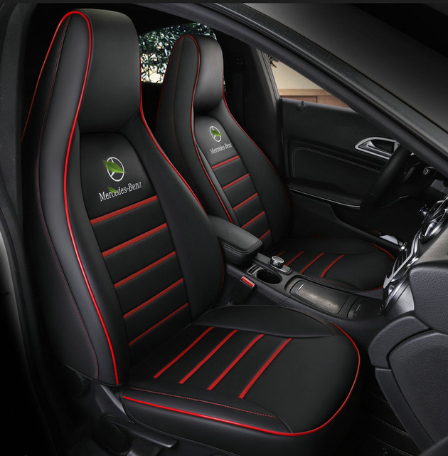 Custom Leather Car Seat Cover For Auto Mercedes Benz