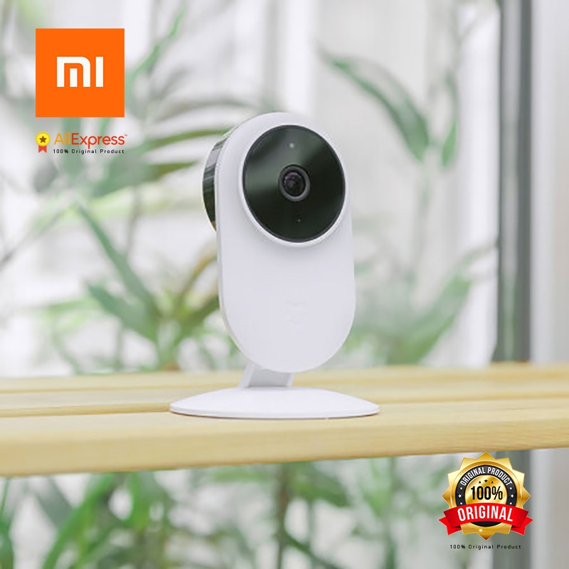 Xiaomi Original MIJIA Smart Camera WiFi SZJ01ZM Surveillance Camera Full HD 1080P Night Vision 130 Wide-Angle Voice Actuated 2018 original xiaomi mijia smart ip camera 1080p 2 4g wifi wireless 130 wide angle 10m night vision hierarchical detection