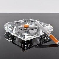 02 10 10 2 5CM Pure Hand Make Crystal Ashtray Decorations Crystal Crafts High Grade Desktop
