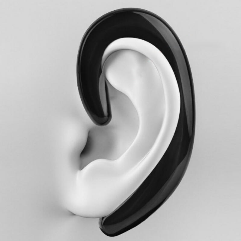 Sport No Earplugs Hands Free Car Drive Headphone K8 Bluetooth Headset Ear Hook Wireless Bone Conduction Earphones With Mic New