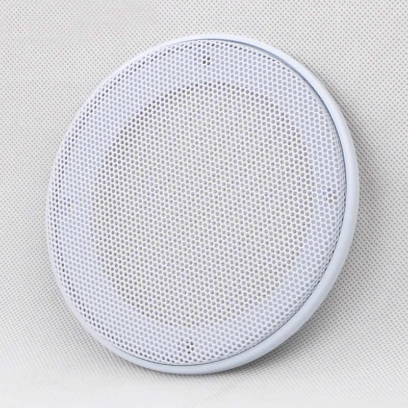 """Для 4 """"/5""""/6,5 """"/8"""" дюймовый звуковой динамик конверсионная сетка крышка декоративная металлическая позолоченная цепь решетка сетки # белый + белый"""