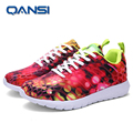 2016 New Fashion rose red colorful printing footwear,  new color trainer unisex comfortable popular couple shoes
