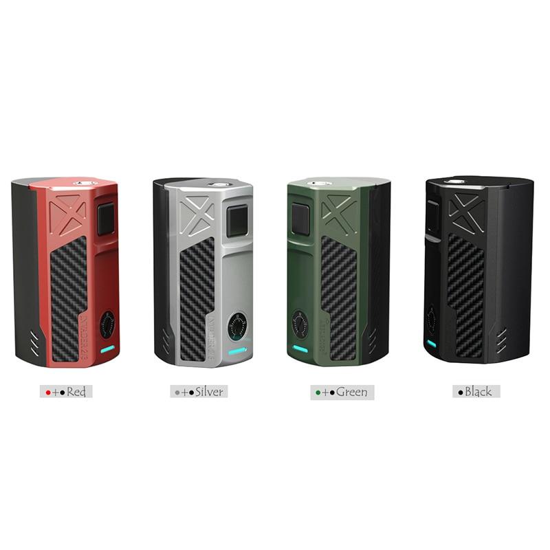 цена на Original Tesla invader 2/3 Box Mod invader2/3 240W/360W BOX MOD for VAPE 18650 Electronic cigarette VS Wismec reuleaux rx 2/3