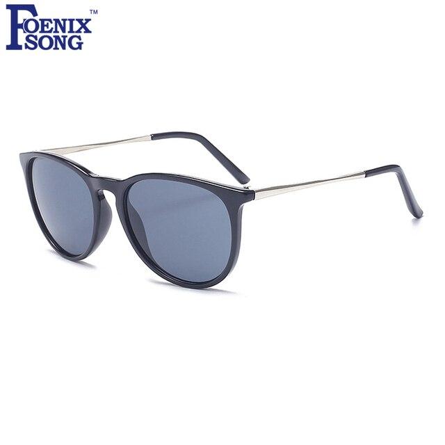 041a4f31470617 FOENIXSONG Vintage Zonnebril Leopard Black Frames Mannen Merk Nieuwe  Zonnebril Vrouwelijke Vrouwen Cat Eye Zonnebrillen Brillen