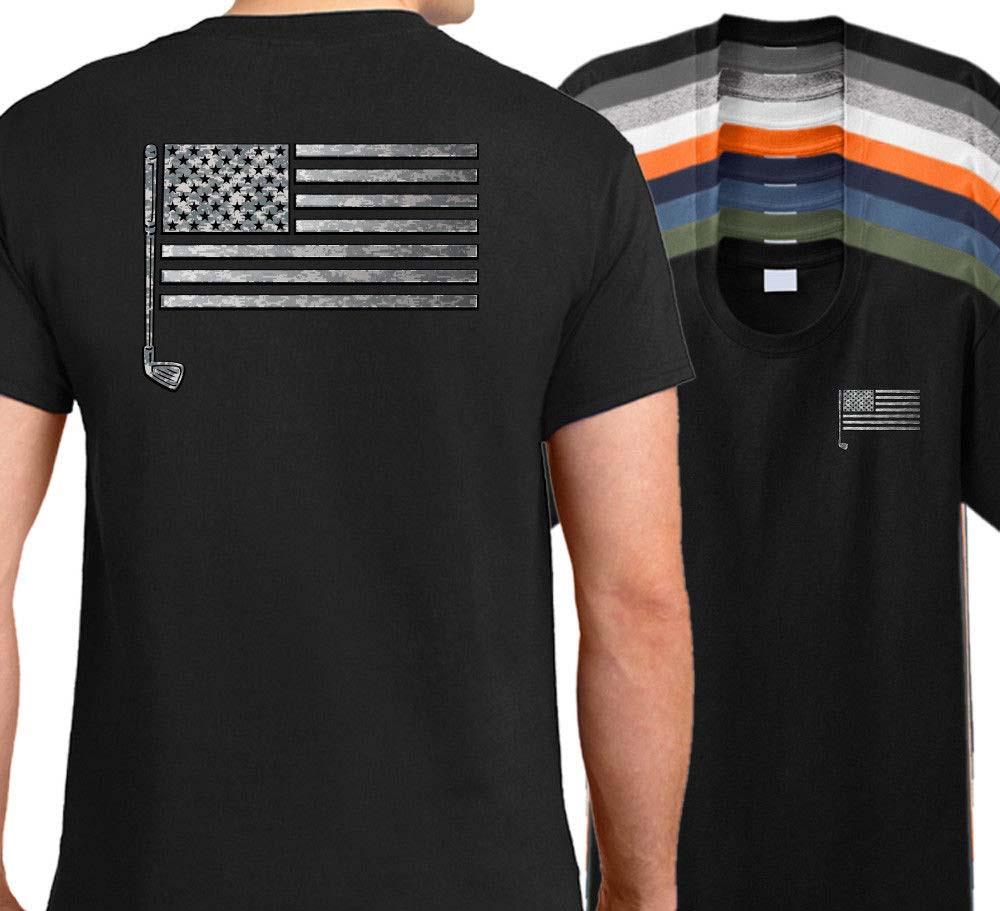 2018 Summer style Funny Short Sleeve Cotton T-Shirts T-Shirt - American Shirt Golfing Putter Shirt Tee Shirt