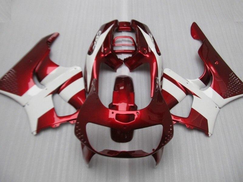 Kits de carénage ABS personnalisés pour HD CBR900RR 96 97 CBR 893RR 1996 1997 carénages rouge blanc moto CBR 893