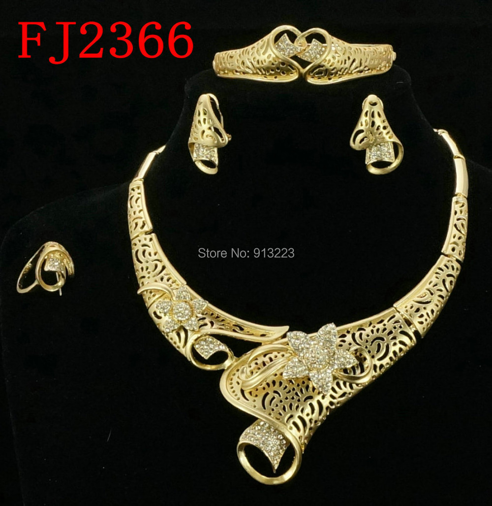 Free shipping italian gold jewelry sets costume african jewelry sets