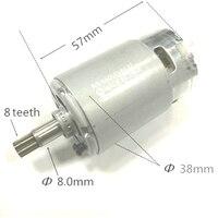 A ferramenta parte o motor RS-550VD-6532 h3 para worx 50027484 wu390 wx390 wx390.1 wx390.31 wu390.9 wx390.9 para o poço de rocha 20 v h3 qn147y12
