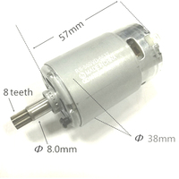 Tool Parts Motor RS 550VD 6532 H3 For WORX 50027484 WU390 WX390 WX390.1 WX390.31 WU390.9 WX390.9 For Rock well 20V H3 QN147Y12|Power Tool Accessories|   -