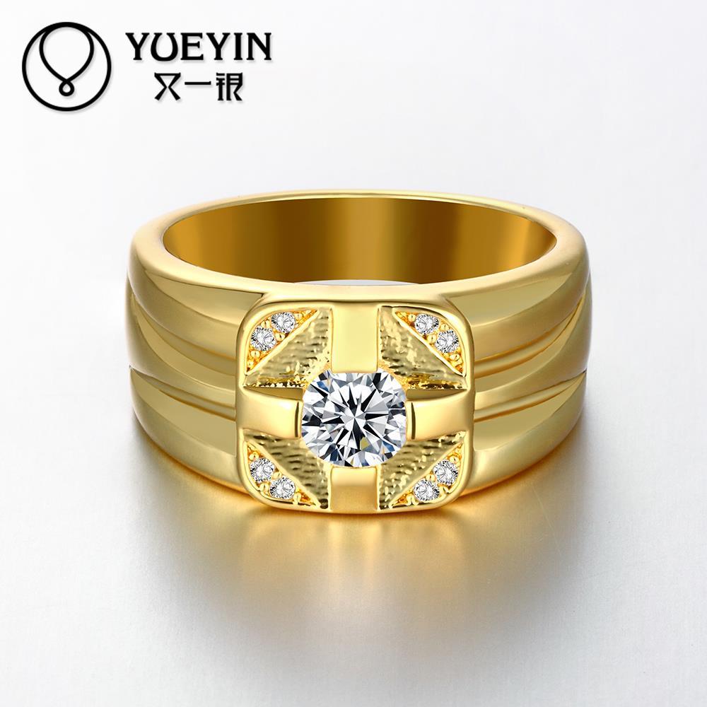 Newest Trendy Male Jewelry Crystal Rings Wedding, Korean ...