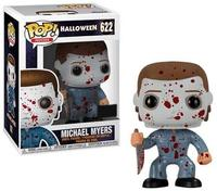 Exclusive Funko pop Official Halloween Michael Myers Bloody #622 Vinyl Action Figure Collectible Model Toy with Original Box
