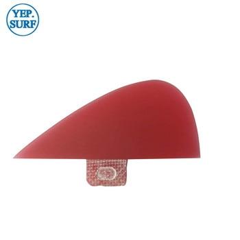 FCS VS Knubster Center Keel Set Fin X Small Red SUP Surf Paddling  Kneel Fibreglass 3 color