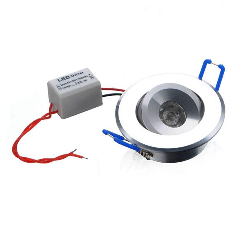 Jiguoorac100 ~ 240 В 3 Вт 300lm 3500 К теплый белый светодиодный потолочный Подпушка света с LED Driver встраиваемые шкаф настенный пятно света Подпушка лампа