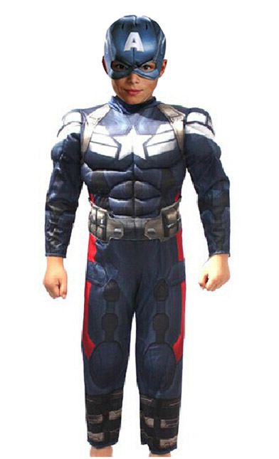 Captain America 2 Winter Soldier Child Costume