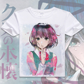 New Anime Scum's Wish Kuzu no Honkai Hanabi Yasuraoka Cosplay T-Shirt Anime  Short-sleeved Men T shirt Fashion Women Tees