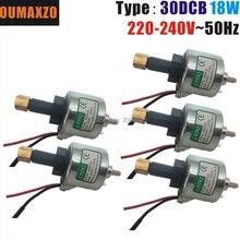 5 adet/grup OUMAXZO 30DCB 18W pompa 400W 18W yağ pompası 30DCB 110v-220v 400w duman makinesi adanmış yağ pompası sis makinesi