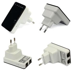 Image 2 - 300 mbps 무선 n 미니 라우터 wifi 신호 확장기 wps는 ap 라우터 클라이언트 브리지 및 리피터 모드를 지원합니다.