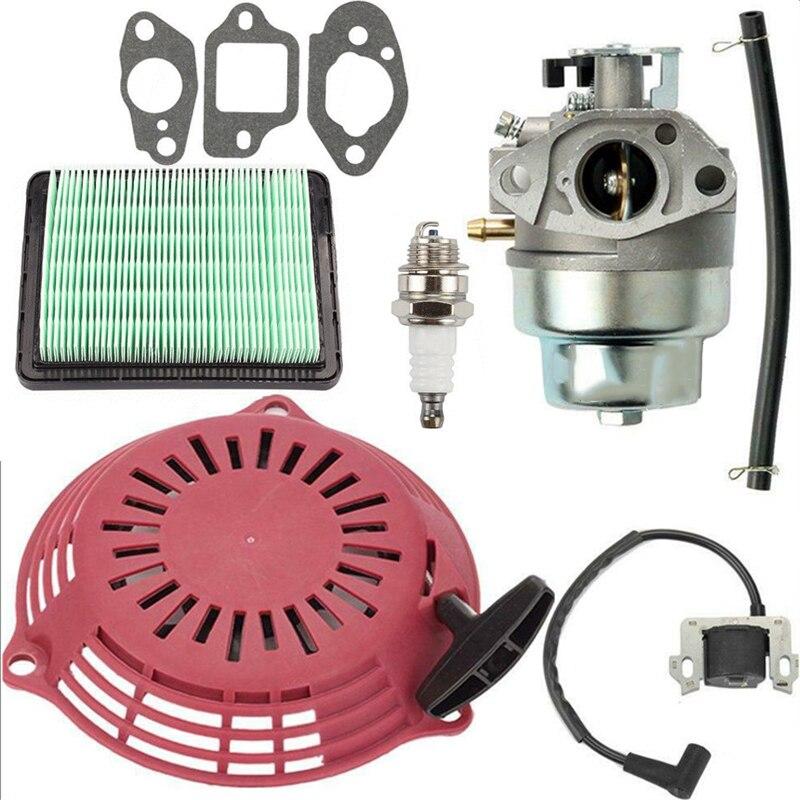 Accessories Lawn Mower Spark plug Gasket Parts Tubing Carburetor For Honda GCV160 GCV135 Kit Replacement Useful