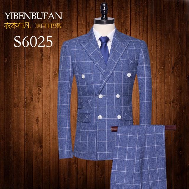 Veste + gilet + pantalon trois pièces costume mens ensemble de mariage robe  costume haute qualité f2ad5013cd1