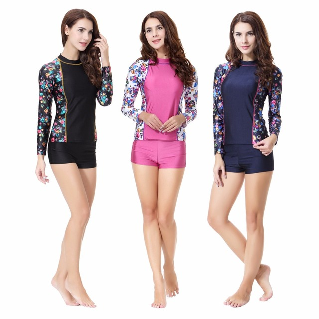c979a25d6133 Women Modest Swimwear Islamic Muslim Female Conservative Swimsuits Muslim  Long Sleeve Bathing Suit Swimming Suit Girls Sunscreen