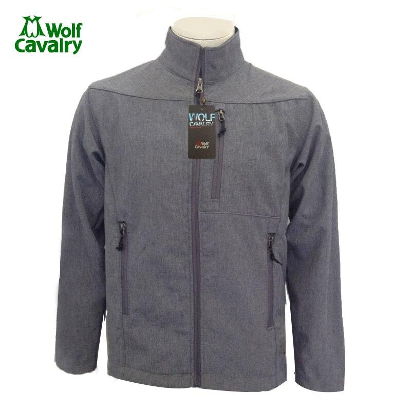 Cavalrywolf Зимние флисовые флисовая куртка Спорт на открытом воздухе Водонепроницаемый Пальто для будущих мам Для мужчин Пеший Туризм Костюмы