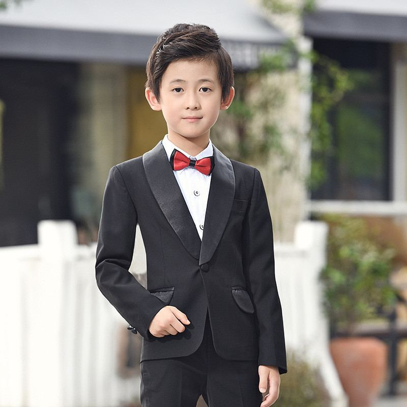 New Baby Boy Suit For Wedding Piano Party Children Boy Blazer+Pant+Shirt+Bowtie 4Pcs Kids Boys Suits Formal Clothes Sets Y116New Baby Boy Suit For Wedding Piano Party Children Boy Blazer+Pant+Shirt+Bowtie 4Pcs Kids Boys Suits Formal Clothes Sets Y116