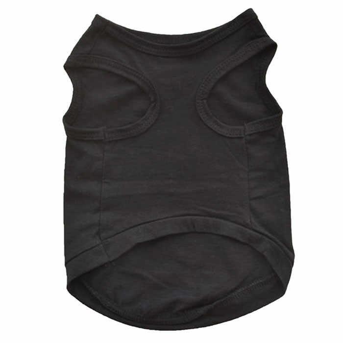 Mới Thời Trang Mùa Hè Dễ Thương Con Chó Con Vật Cưng Vest Cotton Con T Áo Sơ Mi AN NINH in doggy quần áo vải dress drop shipping vận chuyển trên bán