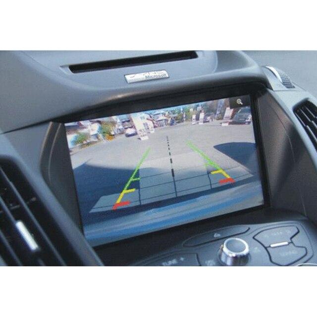 Водонепроницаемая широкоугольная HD CCD Автомобильная камера заднего вида с зеркалом, камера заднего вида для BMW e39 e46 E60 M3