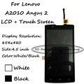 Blanco/Negro Para Lenovo A2010 Angus 2 Pantalla LCD con Pantalla Táctil Digitalizador asamblea Sustitución Smartphone