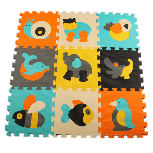 Baby Foam Crawling Mat Nursery School Floor Puzzle Rugs Gym Mats Thick  Squares Tile Educational Foam